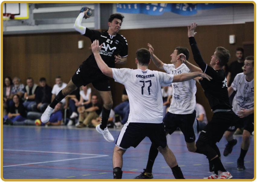 Tournoi de handball à Agde en avril 2022, à l'occasion du Golden Cup International Tournaments